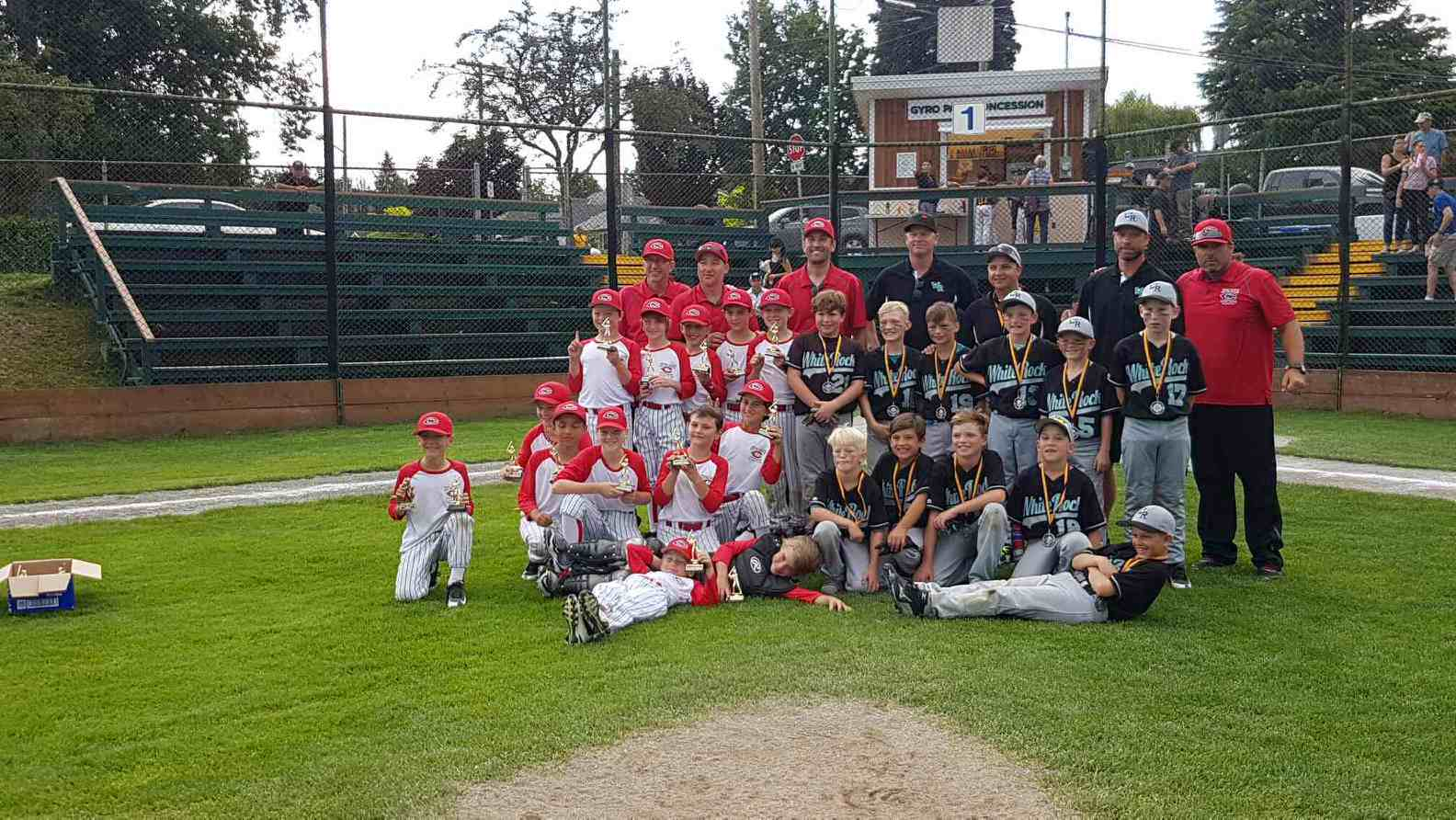 CSLL 8-10 tournament team wins at Nanaimo