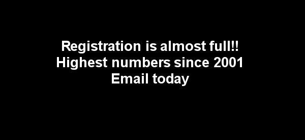 Registration wait lists