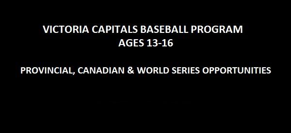 Introducing the Victoria Capitals Baseball Program