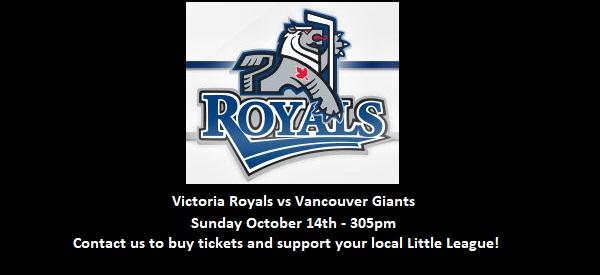 Victoria Royals vs Vancouver Giants